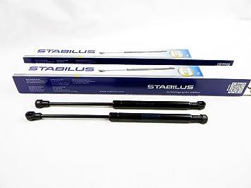 2x STABILUS LIFT-O-MAT GASFEDER D/ÄMPFER F/ÜR MOTORHAUBE HAUBENLIFTER 0244HW