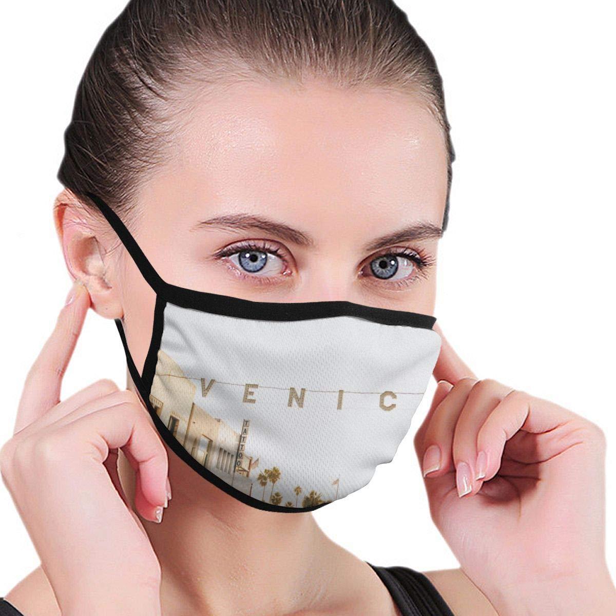 Máscara de boca de moda para niños, adolescentes, hombres, mujeres, discurso en el Bauhaus