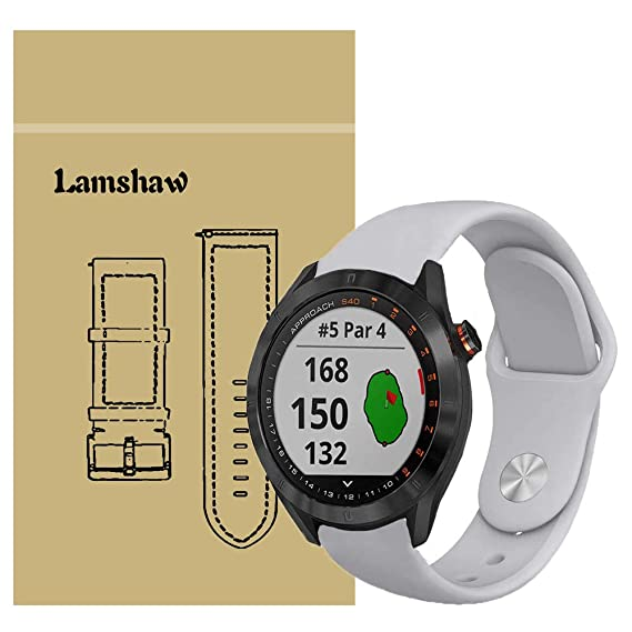 Amazon.com: for Garmin Approach S40 Band, Lamshaw Sport ...