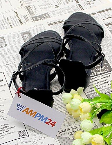 Serpente Nera Sandali EASTPOLE Peep Spiaggia Roma Estate Donna Piatto Outdoor Zip Moda Scarpe Pelle Toe di x7q0YRnw1q