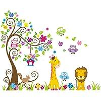 Rainbow Fox - Jungle Zoo:Búho sobre el árbol