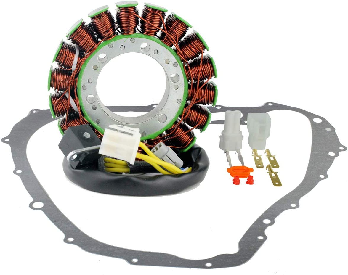Kit Generator Stator + Stator Crankcase Cover Gasket For Suzuki LTA 700 750 X KingQuad 2005-2017 King Quad LTA700X LTA750X LTA750XZ LTA750XP LTA750XPZ OEM Repl.# 32101-31G00 32101-31G01 11483-31G00