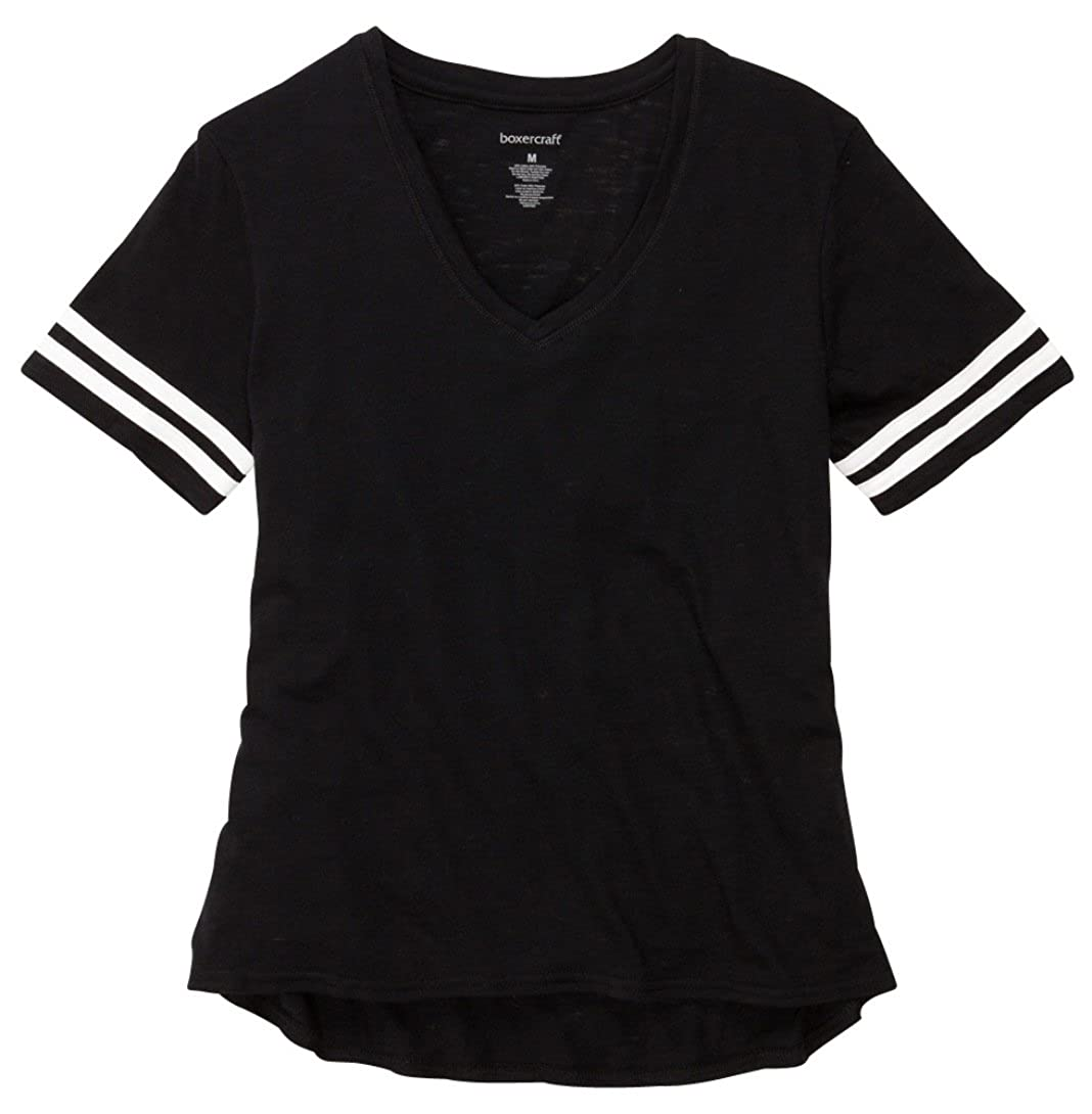 6e1bf2c30 HTC Set: Boxercraft Sporty Slub T-Shirt (T62)+ HTC Care Guide, Adult Sizes  at Amazon Women's Clothing store: