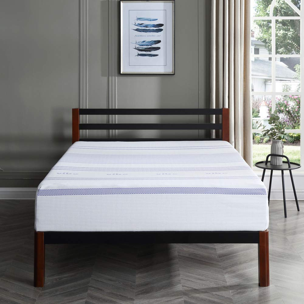 Amazon.com: Classic Brands Vibe 12-Inch Gel Memory Foam Mattress | Bed in a Box, [Mattress Only], Full: Kitchen & Dining
