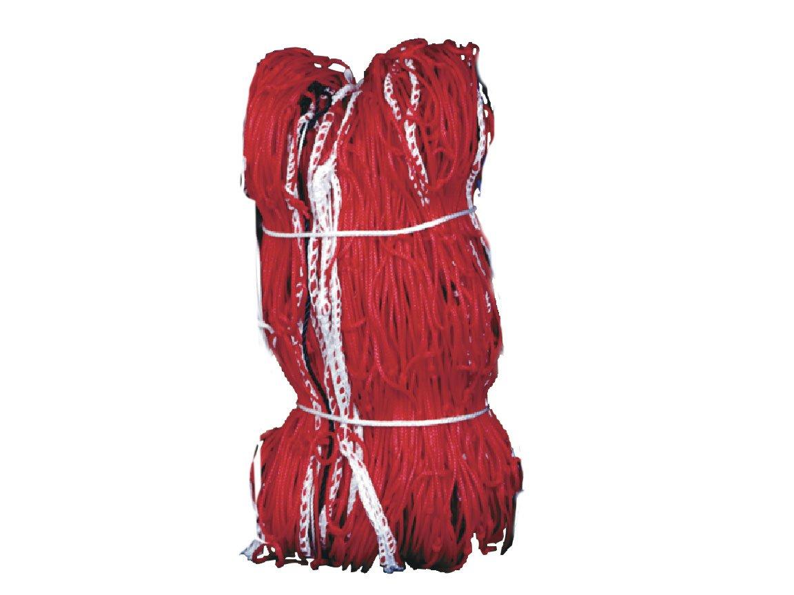 Kwik Goal 3mm Twisted Net (Red, 8-Feet X 24-Feet W X 3-Feet D X 8-Feet B)