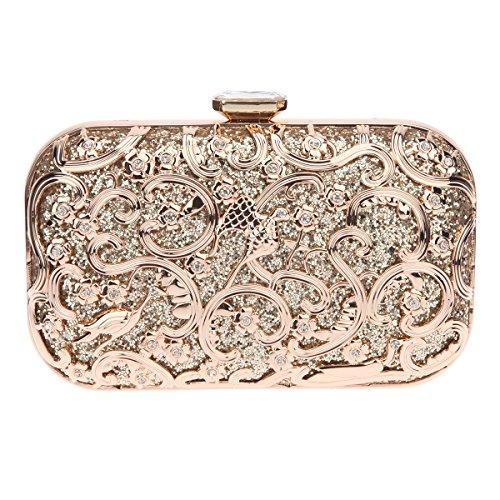 [Fawziya Bird Purses And Handbags For Women Bags Online Shopping Fashion-Gold] (Online Purses)