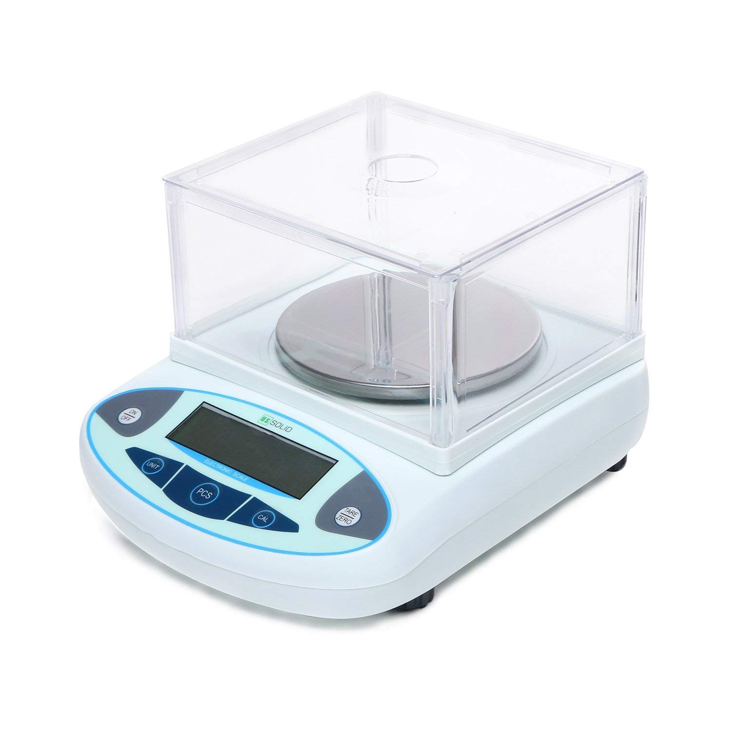U.S. Solid Digital Analytical Balance Electronic Lab Scale 0.01 g LCD (3000g, 0.01g)