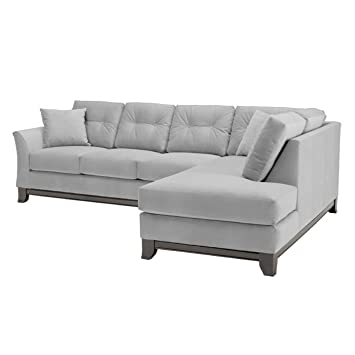 Amazon Com Marco 2 Piece Sectional Sofa Stone Raf Chaise On