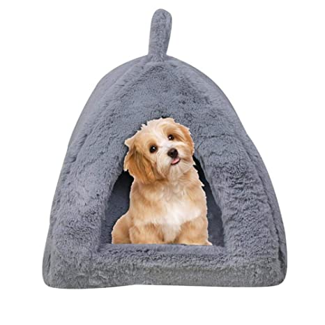 Rejoicing Casa de Mascotas Perro Parque de Juegos Perro Caseta triángulo Yurt Tienda de campaña Pet