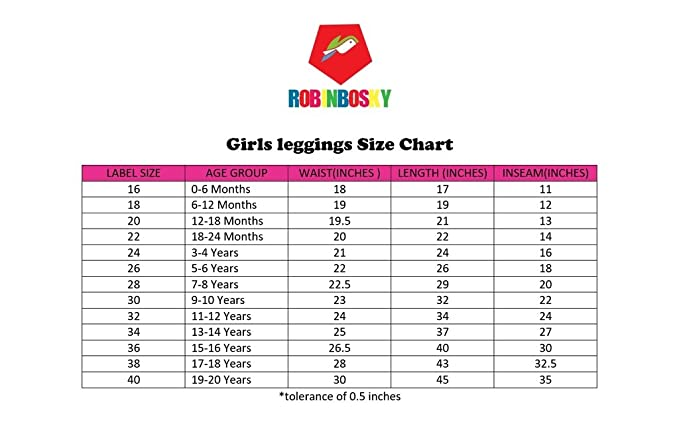 fbd79954a54a Robinbosky Premium Girls leggings (52 Colours and 13 sizes)  Amazon ...