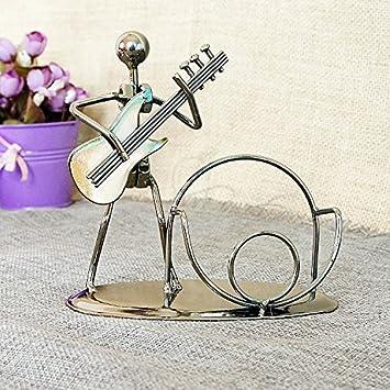 Lll Metall Handwerk Eisen Mann Handy Dekoration Der Musikinstrumente