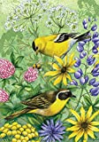 Best Home-X Bird Houses - Toland Home Garden Floral Finches 28 x 40 Review