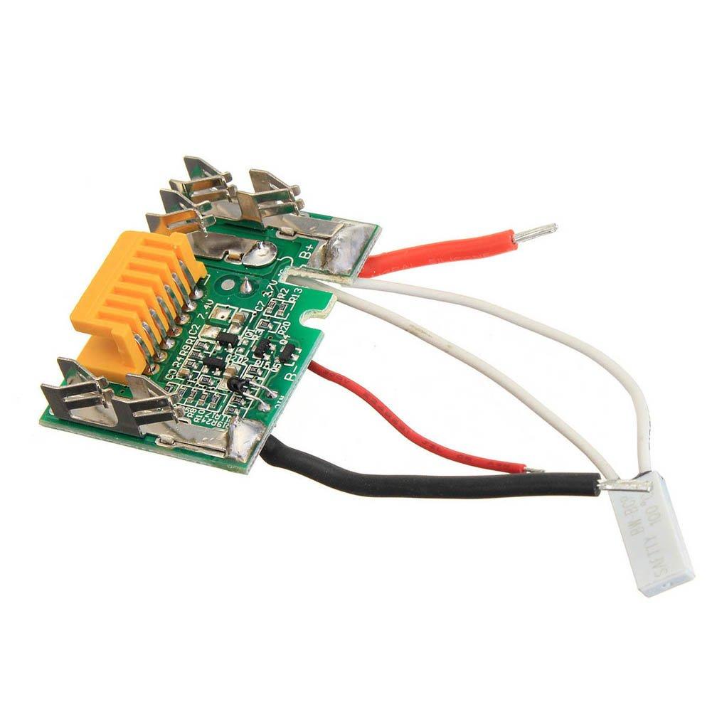 lzndeal Sostituzione PCB Board PCB 18V per Makita BL1830 BL1840 BL1850 LXT400