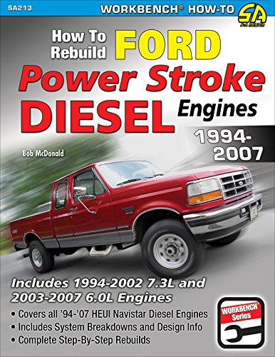 How to Rebuild Ford Power Stroke Diesel Engines 1994-2007 (NONE)
