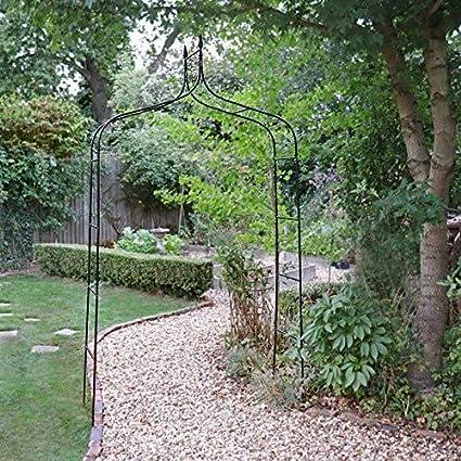 Wido Tradiciones decorativas de color negro para jardín, arcos y planchas de jardinería: Amazon.es: Jardín