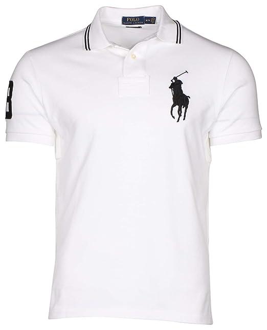 Lauren Pony Fit Malla Hombre Camiseta Custom Ralph Big Polo 4PYnw65qx