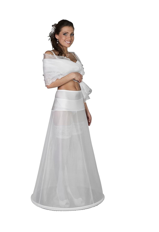 taglie da XS a 4XL circonferenza 220 cm Sottogonna per abito da sposa con giro vita in Jersey H2-220 1 cerchio