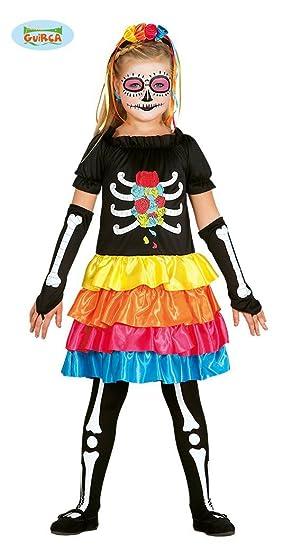 Disfraz de esqueleto mexicano infantil: Amazon.es: Juguetes y juegos