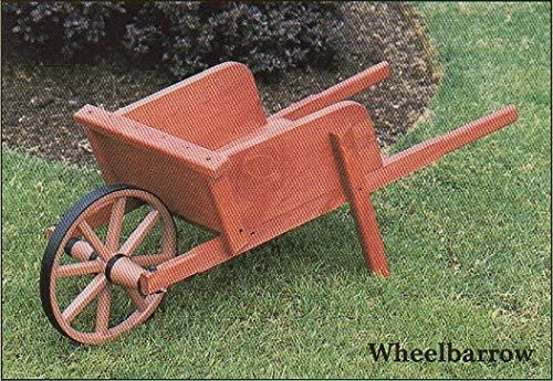 Economía carretilla de madera para jardín/Jardín Amish fabricado en EE. UU.: Amazon.es: Jardín
