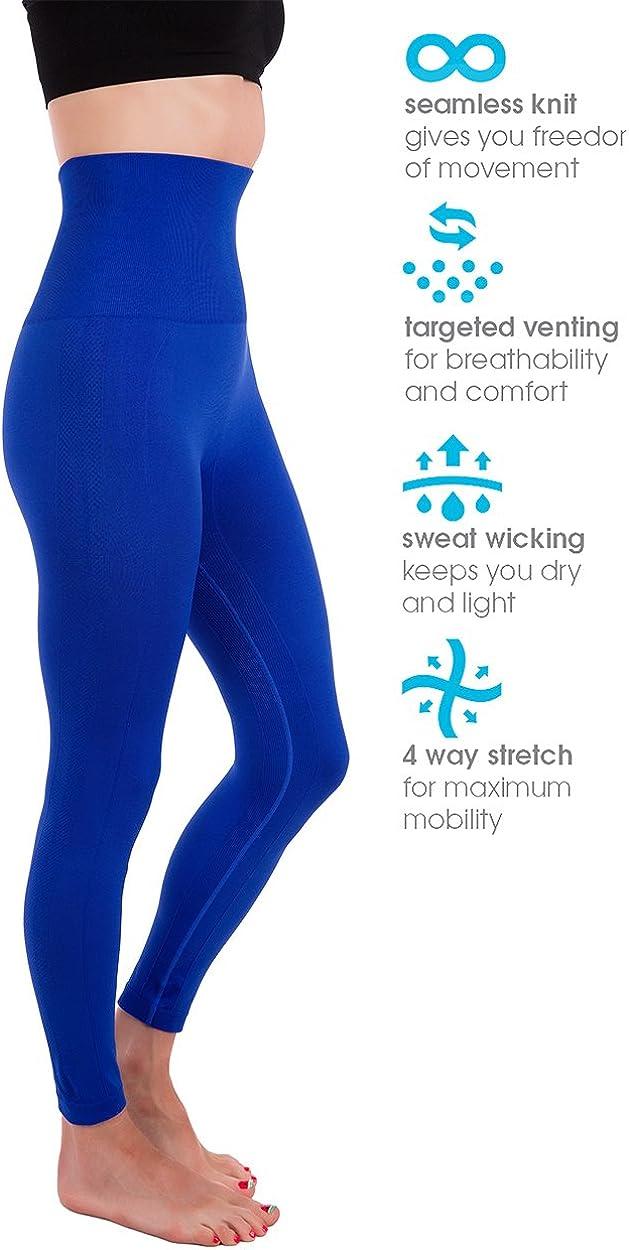 Homma Premium Thick High Waist Tummy Compression Slimming Leggings
