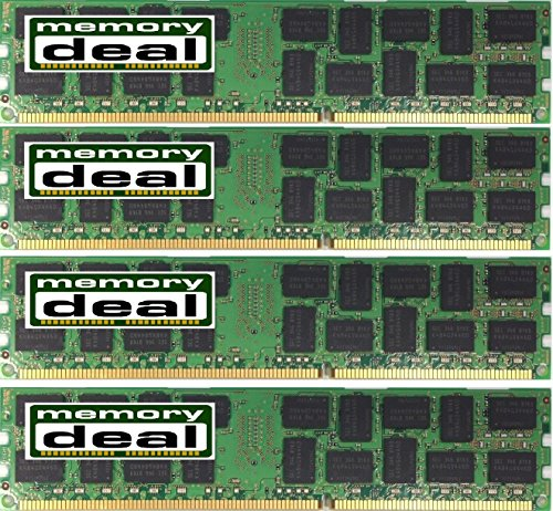 32GB 4X8GB DDR3 1600MHz ECC REG MEMORY FOR ASRock EP2C602-4L/D16 SSI EEB ()