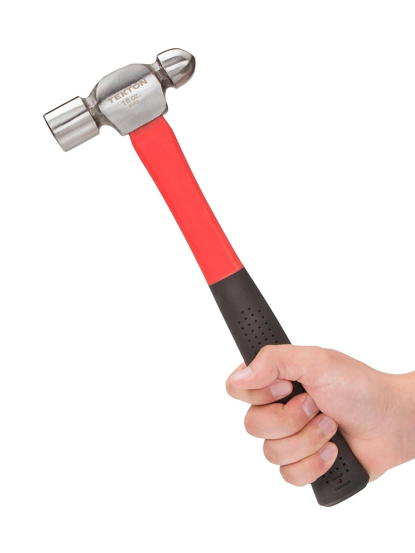 TEKTON 30403 Ausbeul-Kugelhammer 454 Gramm g // 16 oz