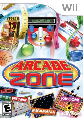 Arcade Zone - Nintendo Wii (Wii Pacman Party Games)