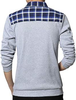 Sylar Camisetas Para Hombre Elegante Simple Color Sólido Impresión ...