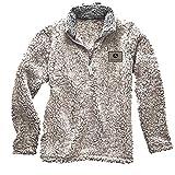 John Deere Sherpa Jacket (Large, Oatmeal)