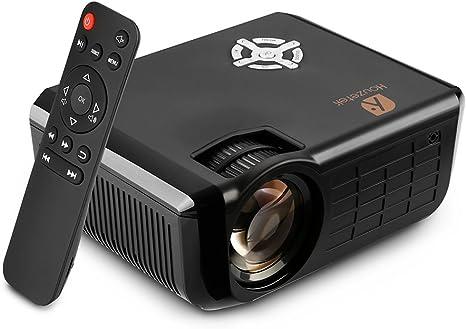Amazon.com: Proyector de vídeo, Houzetek 2500 lúmenes ...