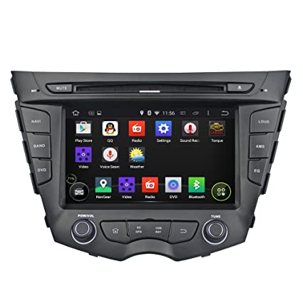 7 Inch GPS Navigation for HYUNDAI VELOSTER Android 5.1 Quad-Core Car Multi Media+