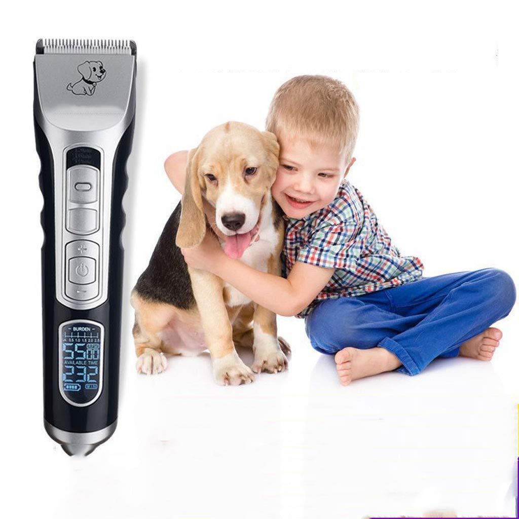 YQ&TL Clipper per per per Cani Pet Clipper Pet Supplies Ricaricabile Capelli Shaver Cat Hair Pusher Cane tagliacapelli Elettrico a8a182