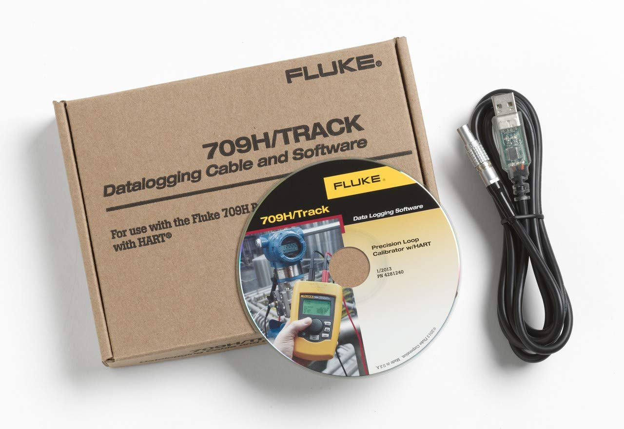 Fluke 709H/TRACK Data Logging Software and Cable, Loop Calibrator