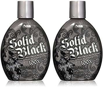 Dark Tanning Lotion 13.5 Ounces each – 2 Pack, Black