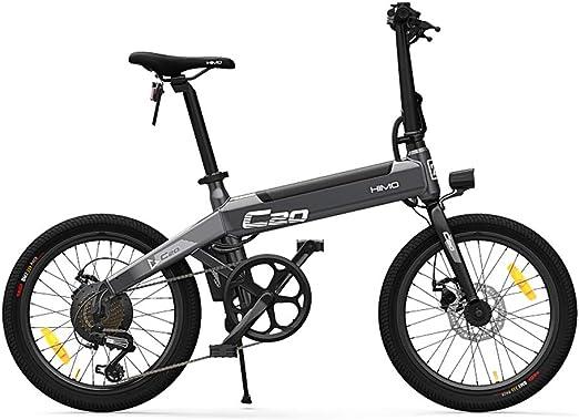 DirkFigge - Bicicleta eléctrica plegable (25 km/h, 80 km, 250 W ...