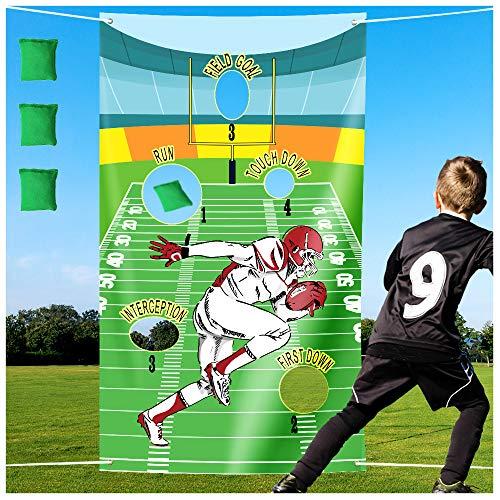 Best cornhole game football theme list