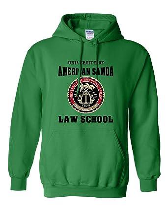 5daa36a974c1 City Shirts University of American Samoa Law School DT Sweatshirt Hoodie  (Small