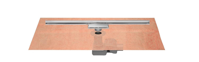 ESS Easy Drain Duschrinne Easy Drain Water-stop WALL 80 cm