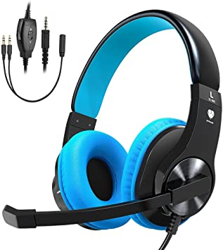 Cascos PS4, Cocoda Auriculares Gaming para PS4 Xbox One Nintendo ...