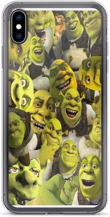 Amazon Com Iphone 7 Case Iphone 8 Case Clear Anti Scratch Shock Absorption Shrek Collage Cover Phone Cases For Iphone 7 Iphone 8