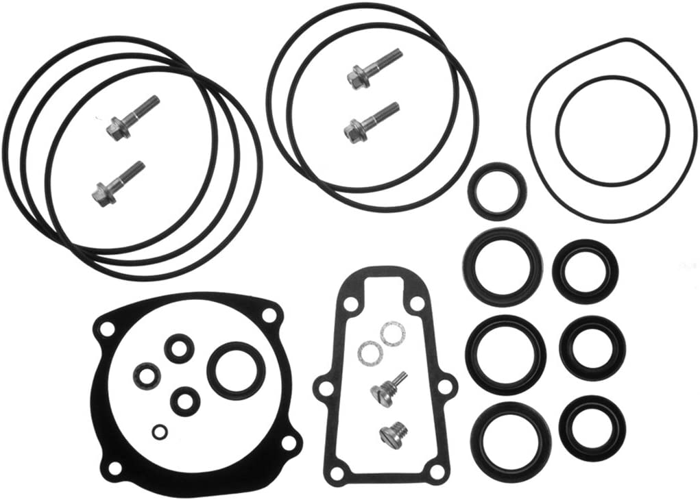 Complete Lower Unit Seal Kit for Johnson Evinrude V4 V8 replaces 5006373 5000411 V6