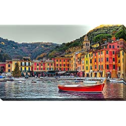 Picture Perfect International Portofino, Italy II Giclee Print Canvas Wall Art