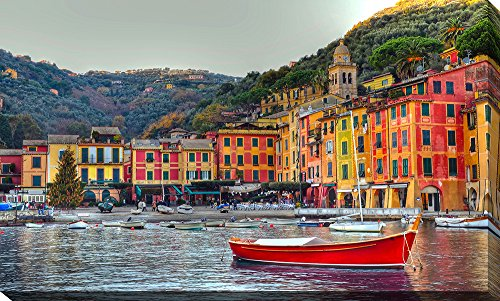 Picture Perfect International Portofino, Italy II Giclee Print Canvas Wall Art