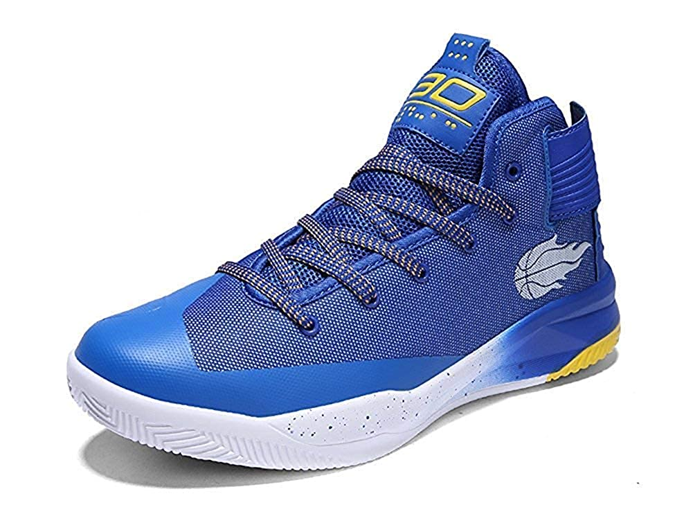 blueee 8.5 B(M) US Women   7 D(M) US Men Beautiful  Fashion Women's Men's Cool Athletic Running Fashion Sneaker and Basketball shoes