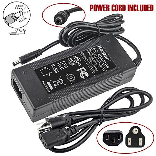 Kastar UL AC Adapter, Power Supply 12V 6A 72W, Tip size 5.52