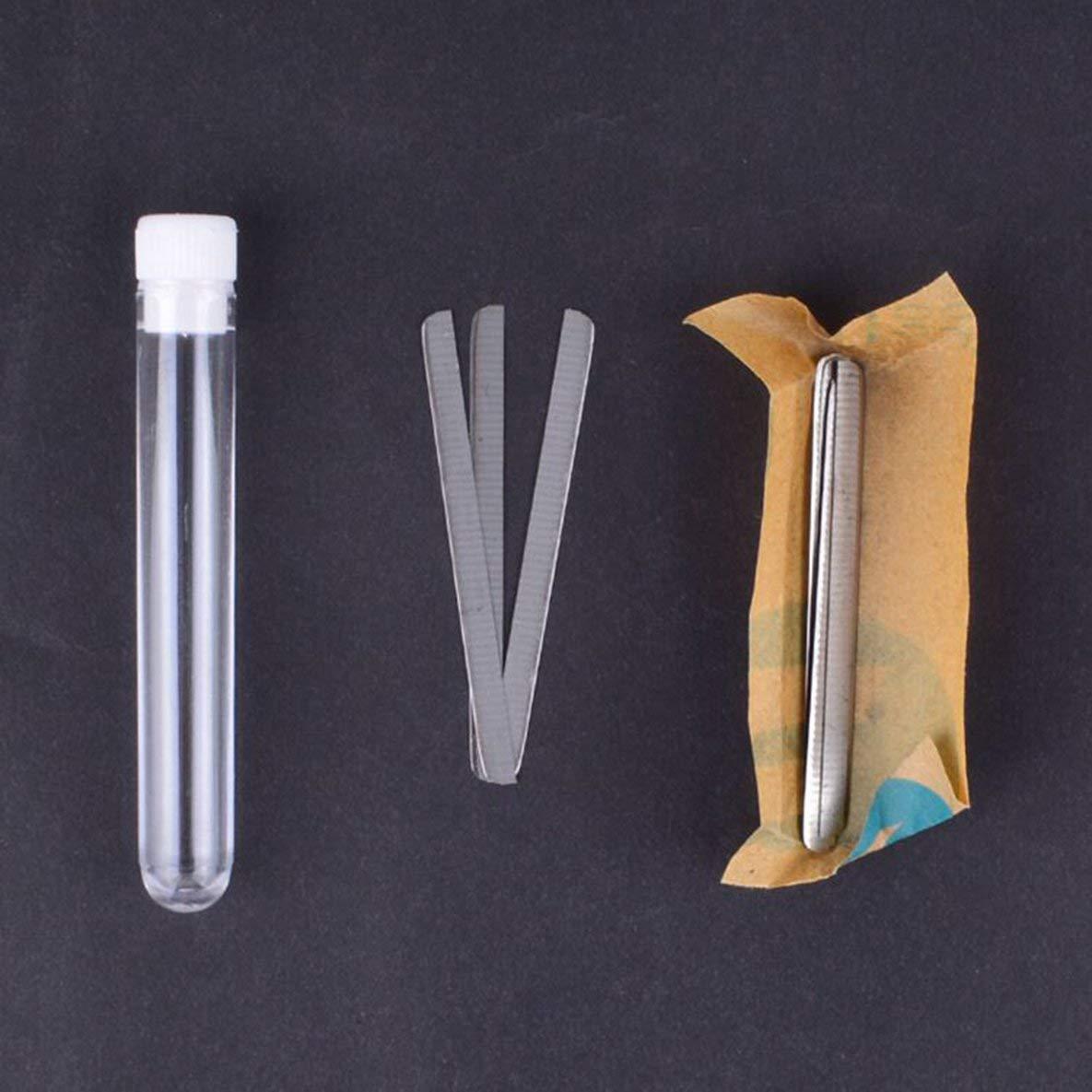 10 UNIDS Cuchillas Trimmer Multifunción Pro Salon Cuchillas de Afeitar Cuchillas de Cera de Acero Inoxidable Cuchillas para Grabar Pluma Moliies