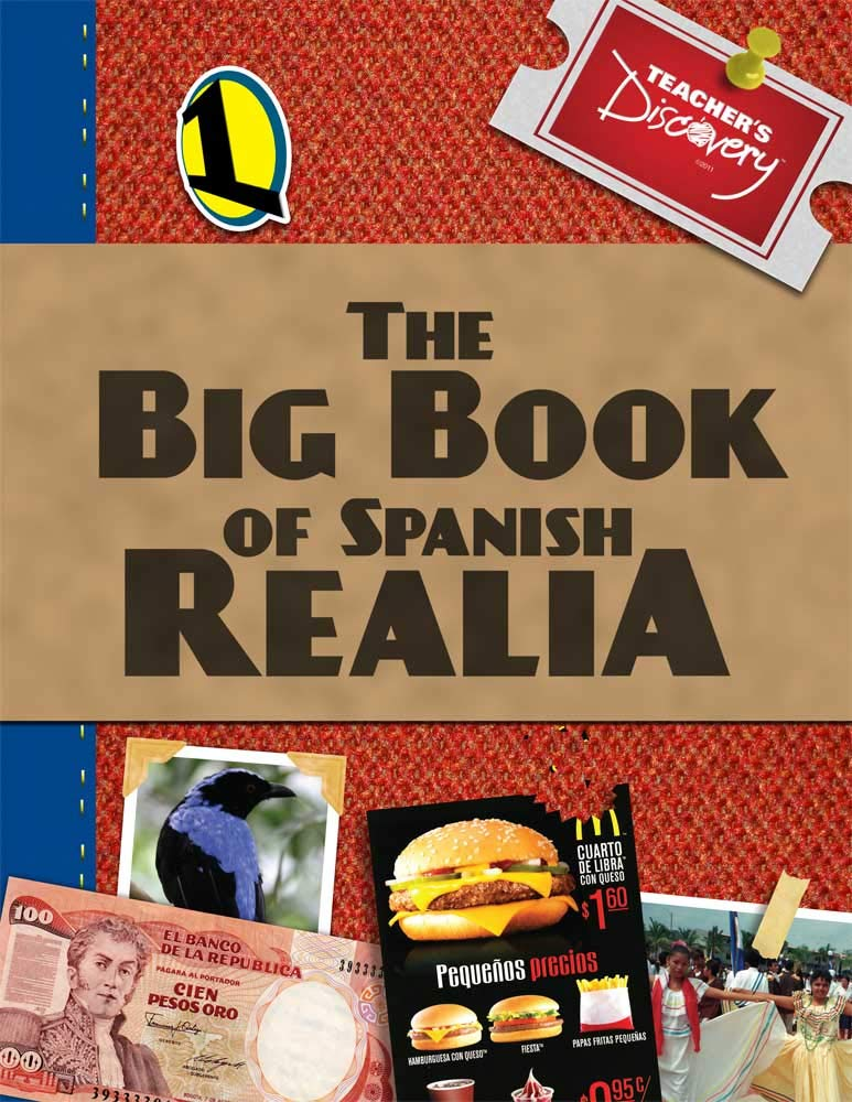 Big Book of Spanish Realia Volume I & Volume II and CD