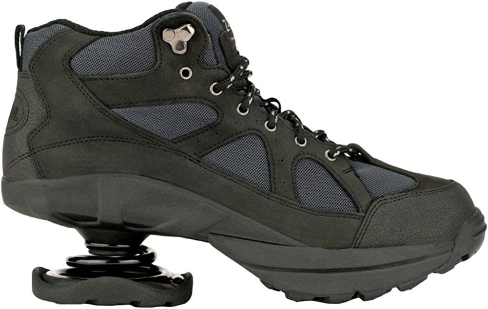 Z-CoiL Pain Relief Footwear Men s Outback Hiker Black Boots