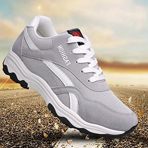 Men Grey Running Town Walking 66 Shoes No Sneaker qPwE611R