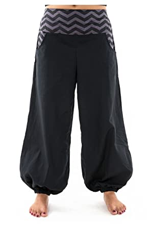 FANTAZIA Pantalon Ballon Bouffant Femme Coton epa -  Amazon.fr  Vêtements  et accessoires 4eef2478e24